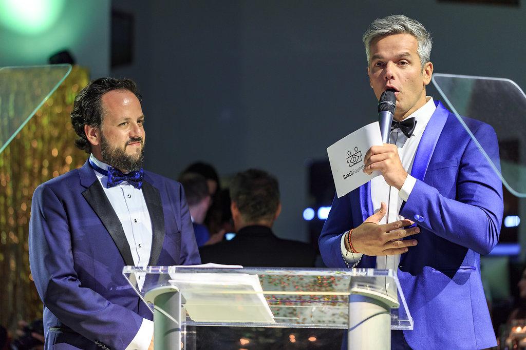 Fabio Zukerman, Otaviano Costa BrazilFoundation VII Gala Miami Tropical Carnival Ball Philanthropy Filantropia