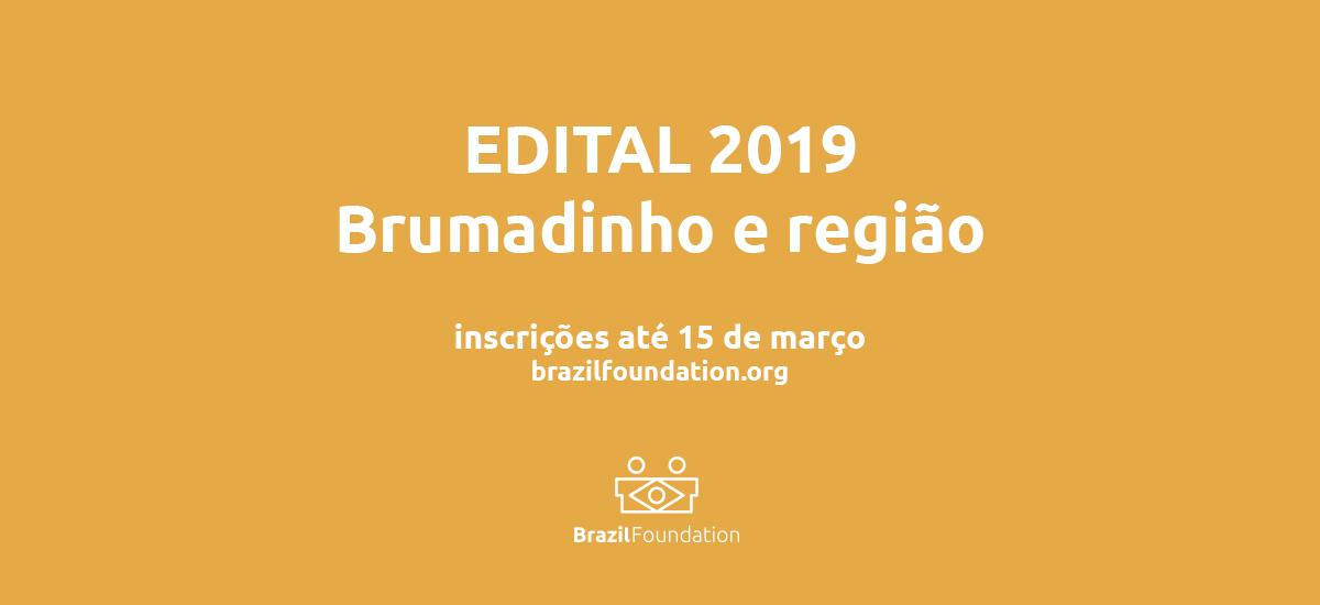 Edital Brumadinho BrazilFoundation Abrace Minas Gerais