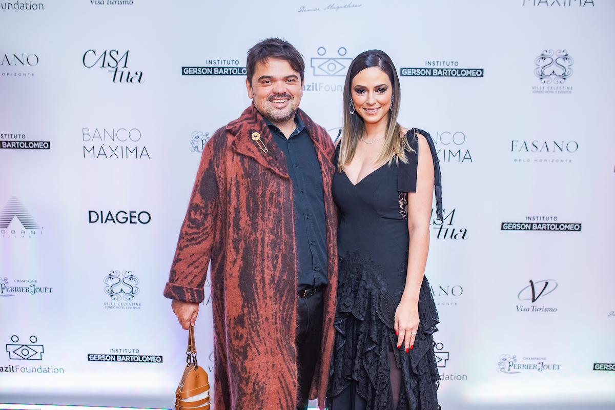 Julia Guimarães & Rafa Alves Credito: Francisco Dumont BrazilFoundation II Gala Minas Gerais Belo Horizonte Filantropia 2019