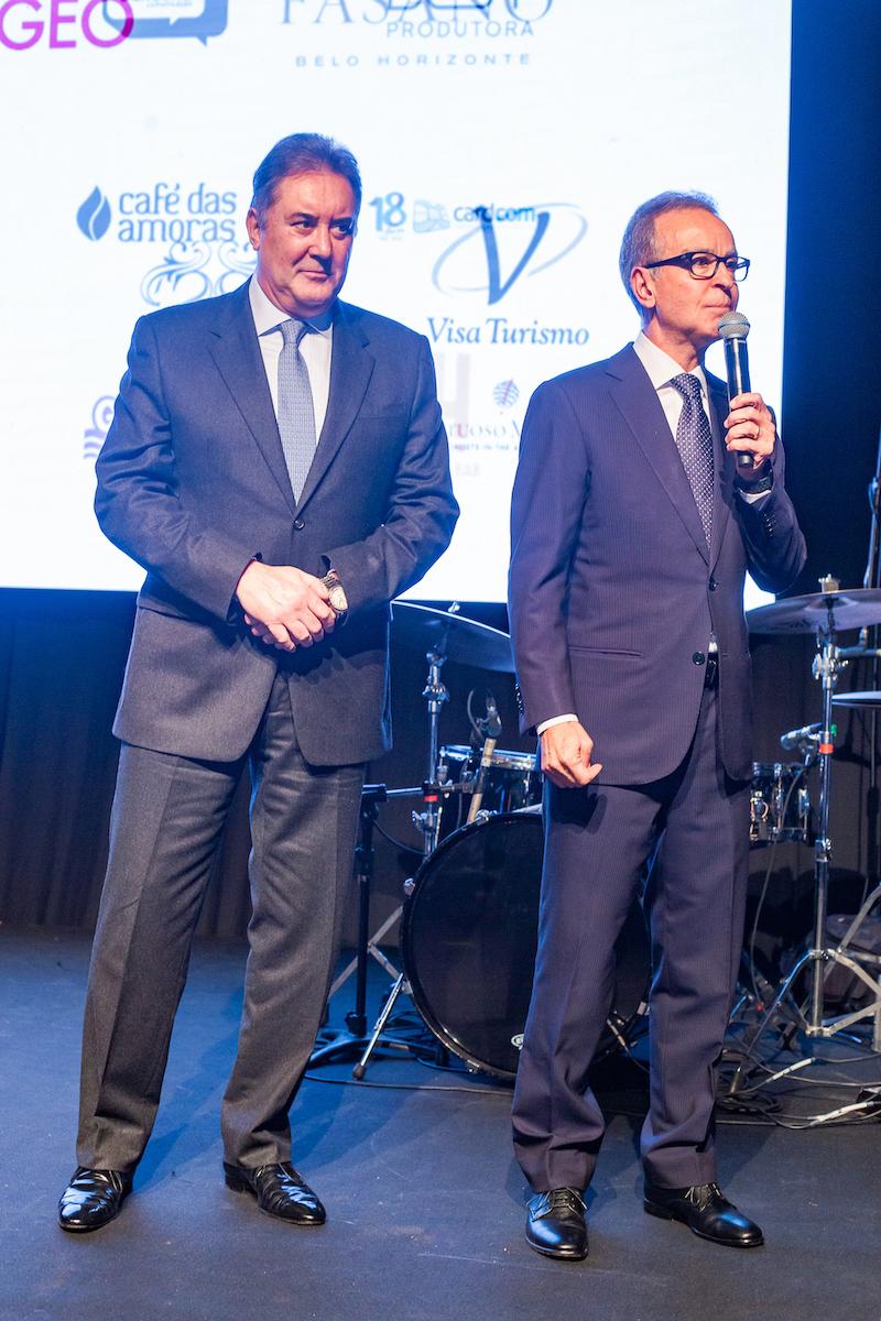 Paulo Henrique Pentagna Guimarães & Eugênio Mattar Credito: Francisco Dumont BrazilFoundation II Gala Minas Gerais Belo Horizonte Filantropia 2019