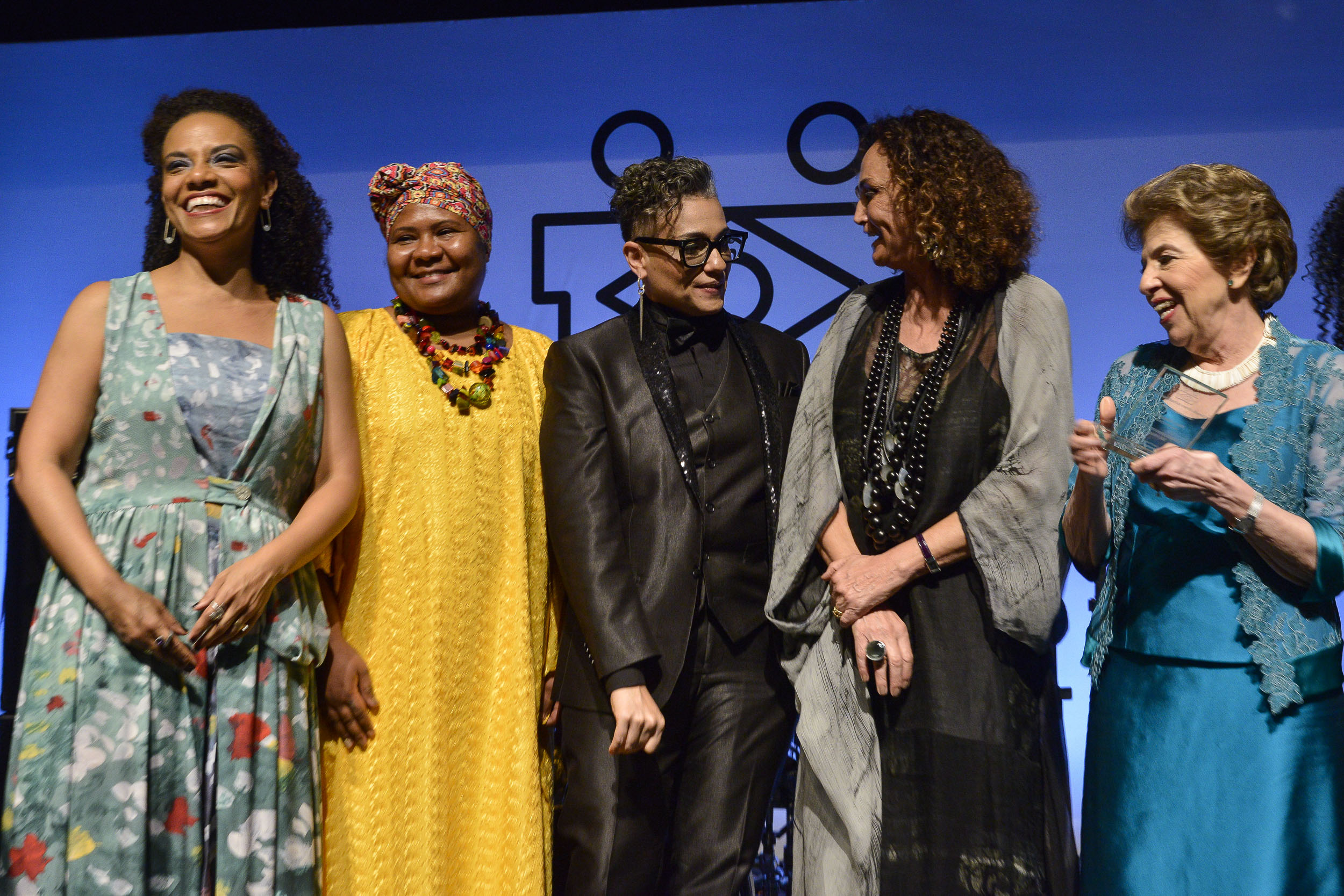 Flávia Oliveira, Charô Nunes, Pri Bertucci, Elena Landau, Mary Allegretti BrazilFoundation Gala São Paulo Mulheres Notáveis Women Philanthropy Filantropia